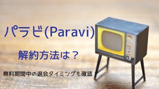 Paravi表紙